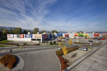 Retail park, Liberec
